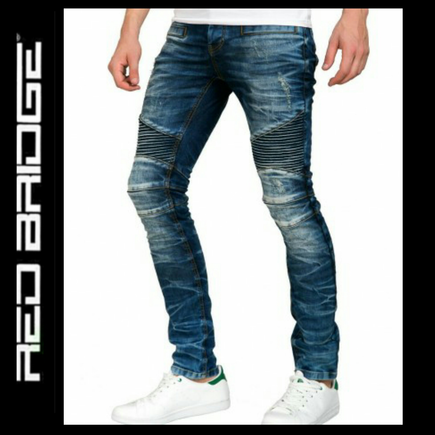 2ed794a736 Red Bridge Biker Blue | Cipo & Baxx Red Bridge Dzseki Kabát Webshop